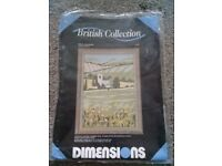 British collection spring meadows long stitch kit