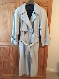 ladies full length M&S fully lined Trench Coat - Size 10-12, ONLY £15