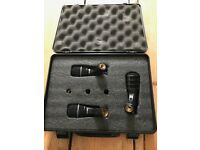Superlux DRK-A3 Drum Mic Trio With Hard Case