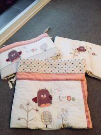 Lollipop Lane, Prickles & Twoo 3 Piece Nursery Bedding Bale