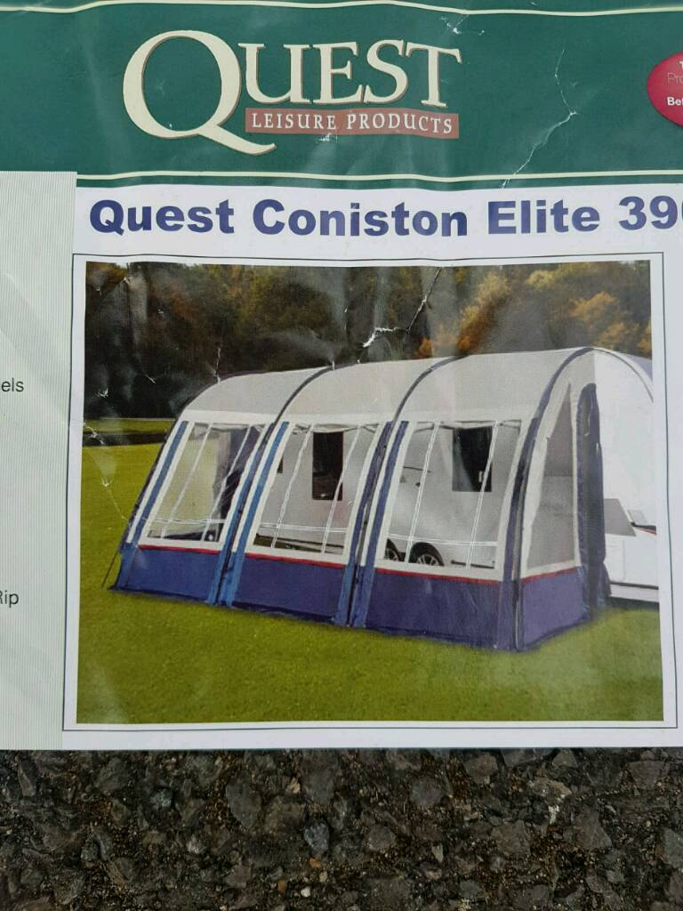 New Quest Coniston Elite 390 Awning