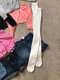 Clothing girls 4-6yrs