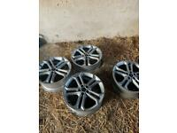 Original ST3 Ford Focus wheels