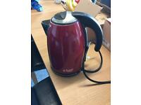 Red Russell Hobbs kettle.
