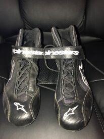 Alpine star race shoes size 9