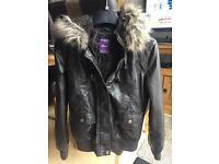 Hooch leather jacket