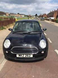 54 reg mini one d 1.4 diesel with private plate