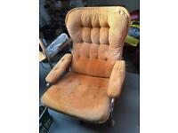 Retro/vintage armchairs