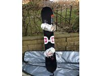 Salomon Ivy Snowboard (womens)with Salomon Relay Lite Bindings and bag