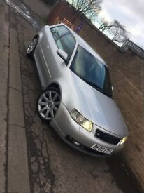 Audi s3 8l quattro, BAM engine, full leather, xenon lights, tested, great condition