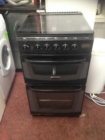 Cannon gas cooker with glass lid