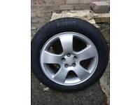 "Aloy wheel with tyre 16"" Audi,Vw,Seat"