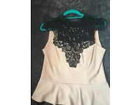 Lipsy London top, size12, worn once