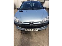 Peugeot 206, silver. Need quick sale as going travelling