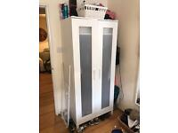 White ikea wardrobe £20