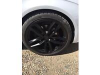 """20"""" Alloys/tyres"""