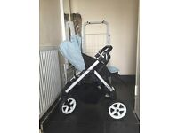 Pushchair + carrycot