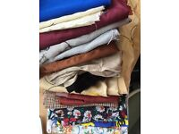 Fabric scraps for sewing / craft