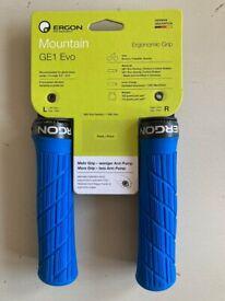 Ergon GE1 Evo - Bike grips - Midsummer Blue