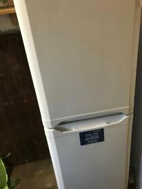 Indesit fridge freezer white