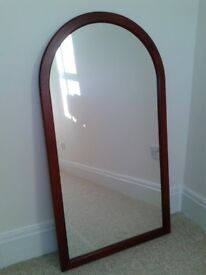 Mirror - wooden frame