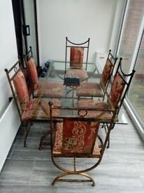 Cousins dining table and chairs -FREE -COLLECTION ONLY