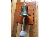 Large brass bell