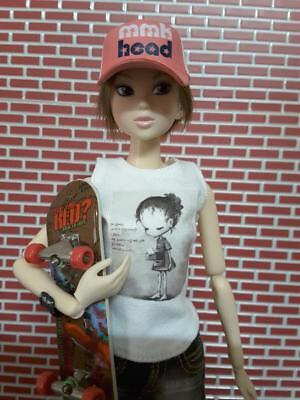 CAP HAT ONLY NO DOLL PetWORKs momoko Beach & Sun Pull Hat Fashion **