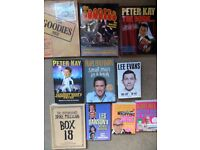 Collection/job lot of comedy books (Lee Evans/The Goodies/Peter Kay/Harry Hill/Spike Milligan)
