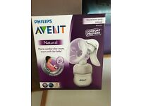 BNIB Phillips Avent manual breast pump