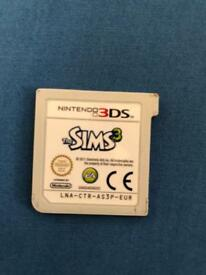 The sims 3 3ds game