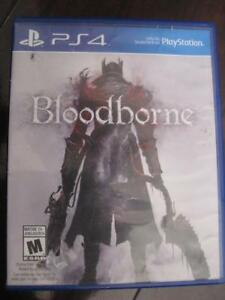 BloodBorne for Playstation PS4 Game System. Play if you Dare. Highly anticipated Game. Demon Soul, Dark Soul. Scream