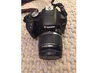 Canon EOS 500D SLR Digital Camera and 55-250mm lens