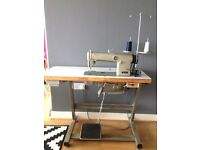 Industrial Brother flat sewing machine