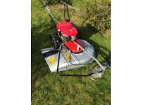 "Commercial mower Honda UM616 24"" cut hydrostatic VGC for cutting long rough grass verges lawnmower"