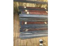 SOLD. Wooden garden fence slats