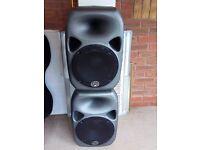 PA Speakers Wharfedale Titan 12 Passive Speakers