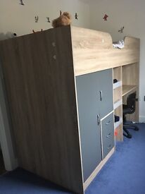 Mid sleeper single bed with storage ***reduced****