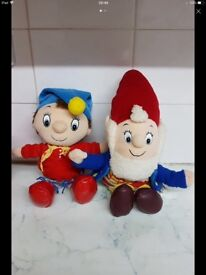 VINTAGE NODDY AND BIG EARS SOFT TOYS