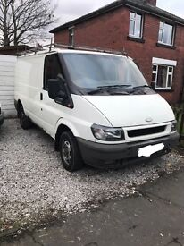 Ford transit swb tow bar breaking complete van 2001 / 2013
