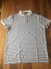 Ralph Lauren Polo Shirt - Large (custom fit)