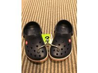 Boys crocs size 1