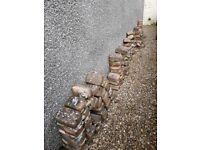 Bricks round edged