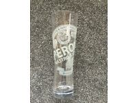 Peroni Pint Glasses x6