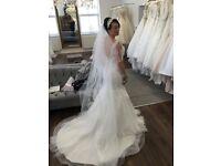 Designer wedding dress (Mori lee)