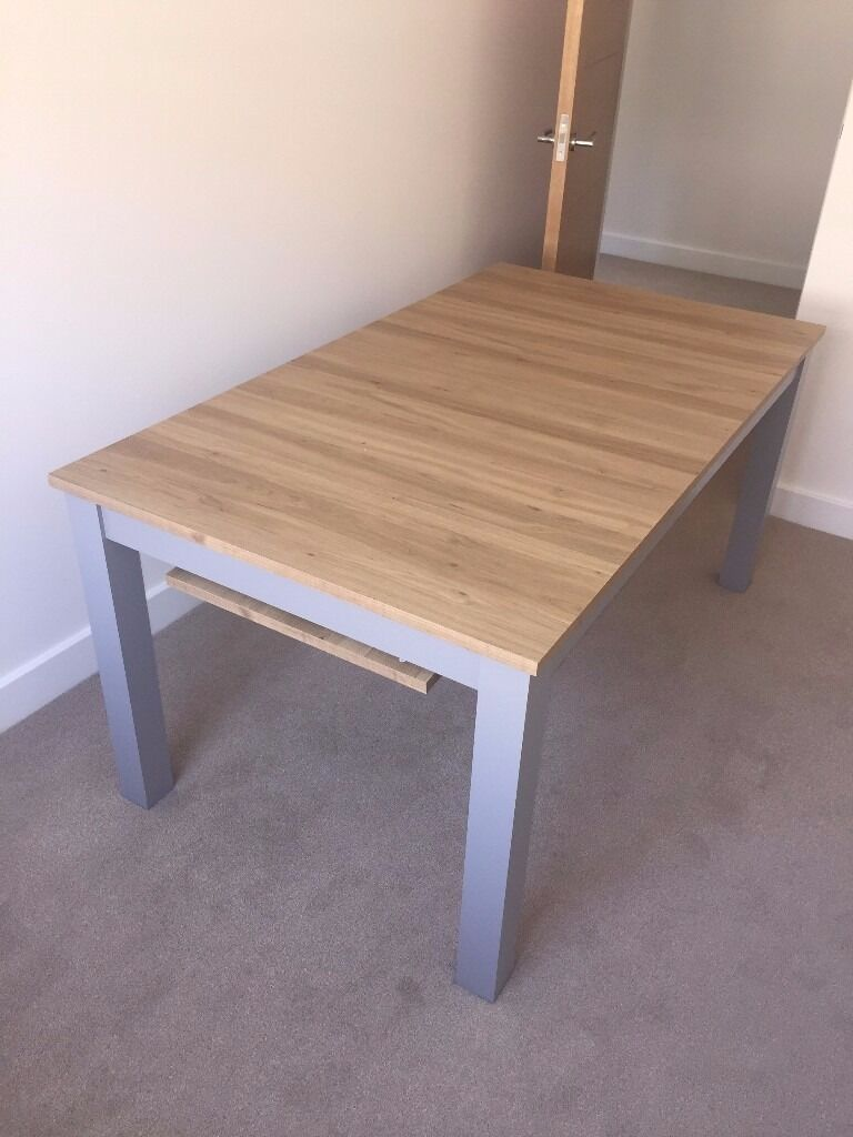 Bronx Next 6 8 Seater Dining Table In Ringwood