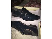 formal shoe (dark teal colour) size 8