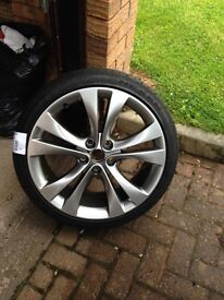 """Vauxhall 20"""" alloy comes with brand new tyre"""