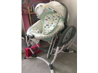Gracco glider elite swing and bouncer