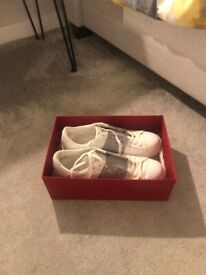 Ladies size 4 reebok classic princess trainers | in